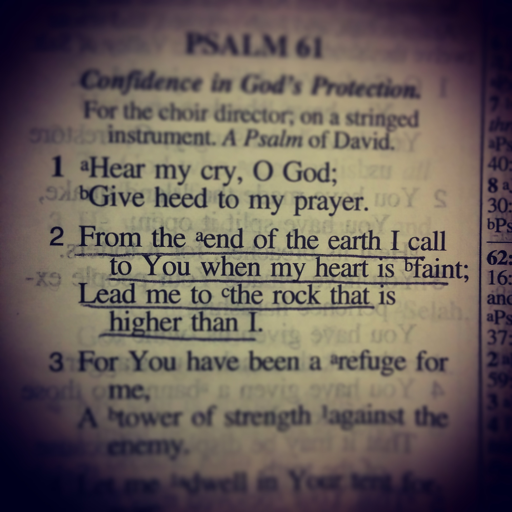 Higher than I | Glorify God • Magnify Him in this World!